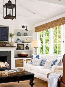 Affordable Living Room Summer Decorating Ideas 01