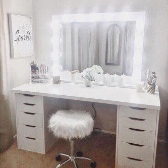 Casual Dressing Table Ideas In Your Room 49