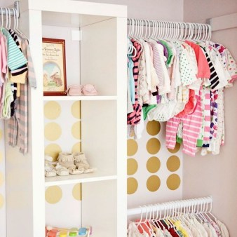 Classy Design Ideas An Organised Open Wardrobe 02