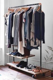 Classy Design Ideas An Organised Open Wardrobe 03