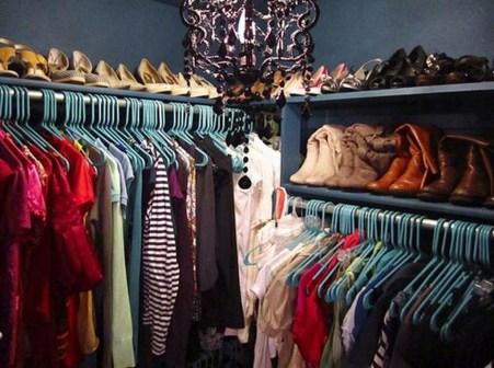 Classy Design Ideas An Organised Open Wardrobe 15