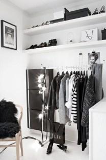 Classy Design Ideas An Organised Open Wardrobe 18