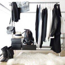 Classy Design Ideas An Organised Open Wardrobe 26