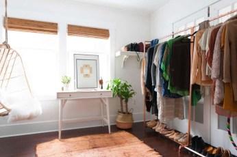 Classy Design Ideas An Organised Open Wardrobe 29