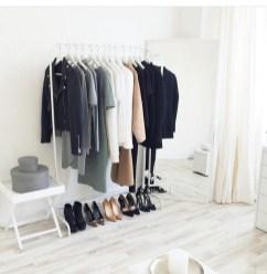 Classy Design Ideas An Organised Open Wardrobe 37