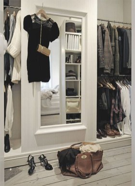 Classy Design Ideas An Organised Open Wardrobe 46