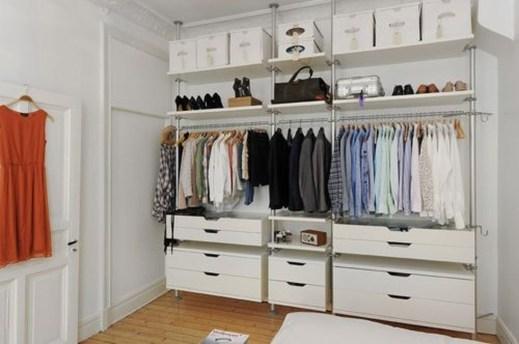 Classy Design Ideas An Organised Open Wardrobe 52