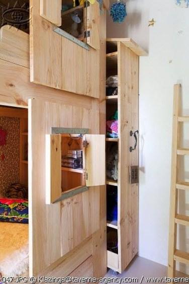Delightful Wardrobe Shutter Designs Ideas For Children 16