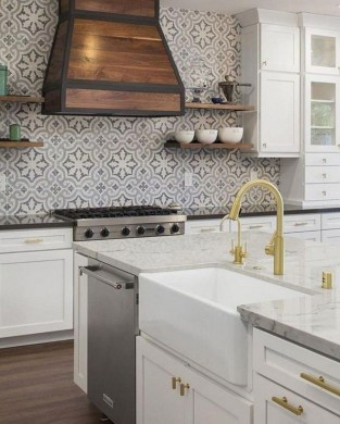 Adorable Kitchen Backsplash Decorating Ideas For This Year 49