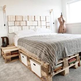 Amazing Bedroom Pallet Design Ideas 04