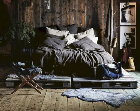 Amazing Bedroom Pallet Design Ideas 07