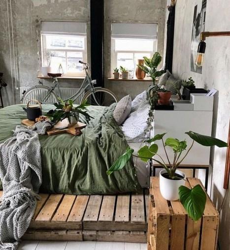 Amazing Bedroom Pallet Design Ideas 08