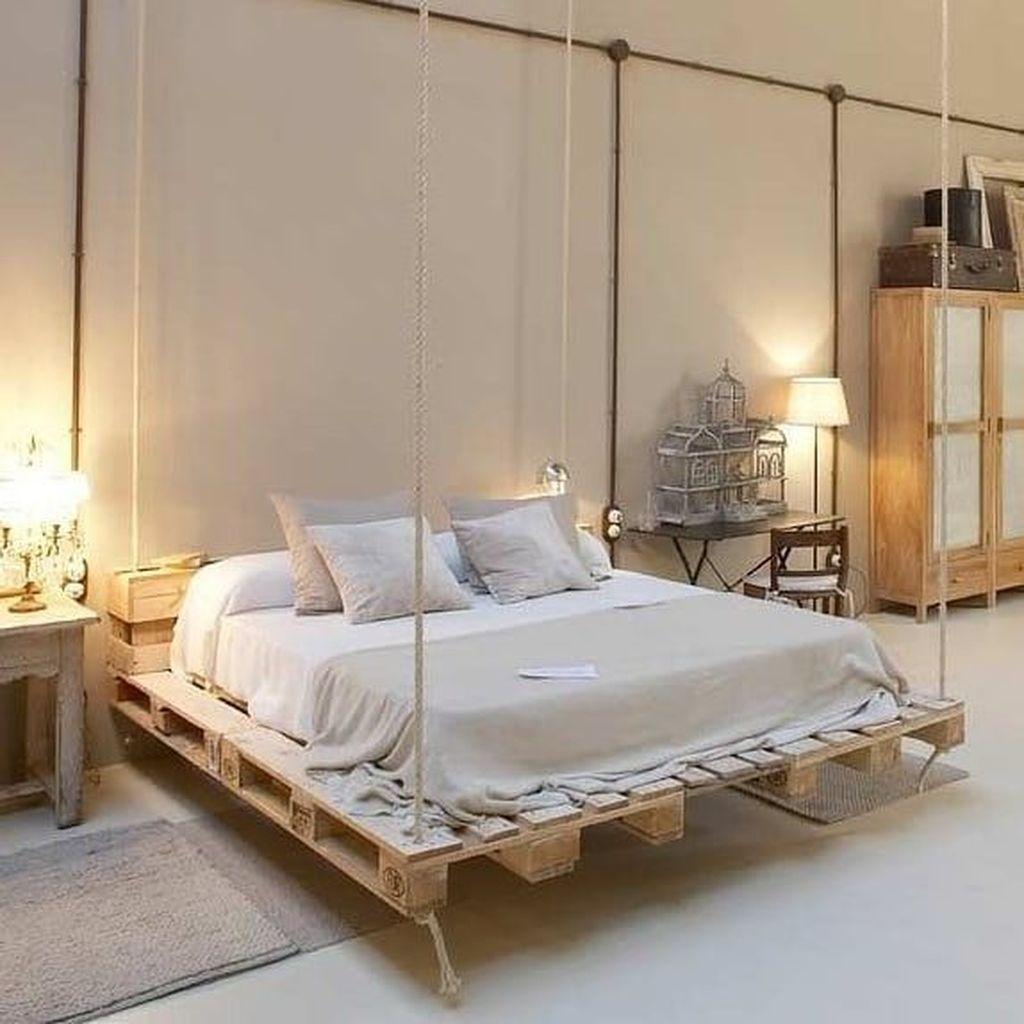 Amazing Bedroom Pallet Design Ideas 45