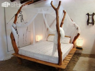 Amazing Bedroom Pallet Design Ideas 49