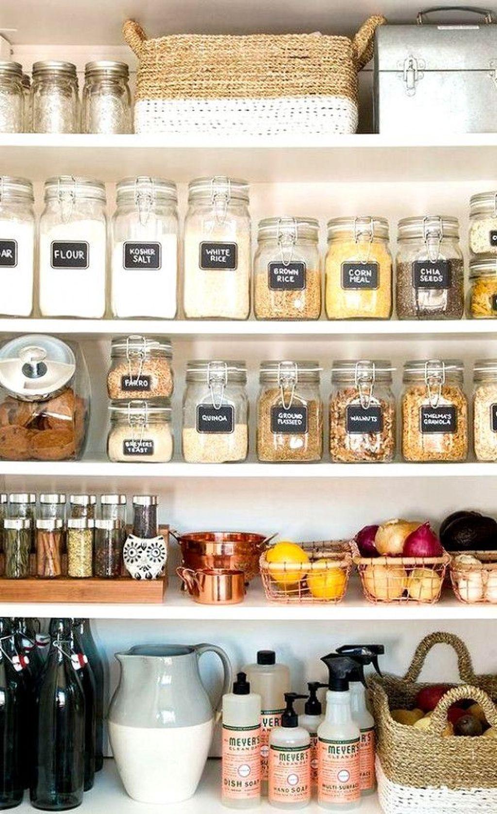 Amazing Organized Farmhouse Kitchen Decor Ideas 02