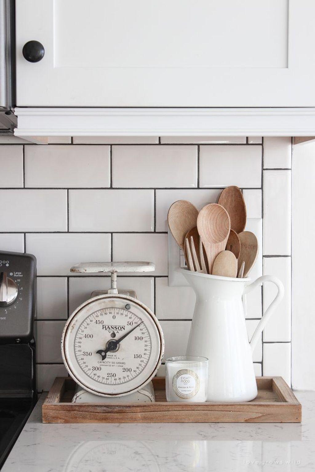 Amazing Organized Farmhouse Kitchen Decor Ideas 42