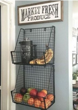Amazing Organized Farmhouse Kitchen Decor Ideas 45