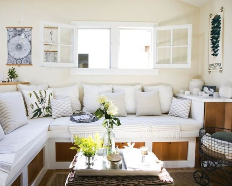 Casual Sofa Ideas With Storage Underneath For Small Space 08