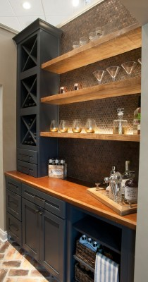Delicate Home Bar Design Ideas That Make Your Flat Look Great 15
