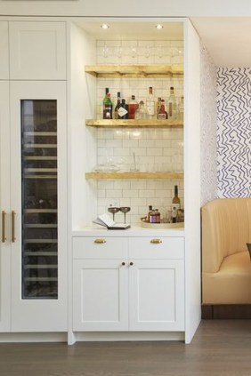 Delicate Home Bar Design Ideas That Make Your Flat Look Great 29