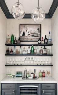 Delicate Home Bar Design Ideas That Make Your Flat Look Great 44