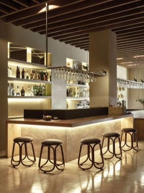 Delicate Home Bar Design Ideas That Make Your Flat Look Great 49