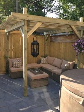 Elegant Backyard Patio Ideas On A Budget 44