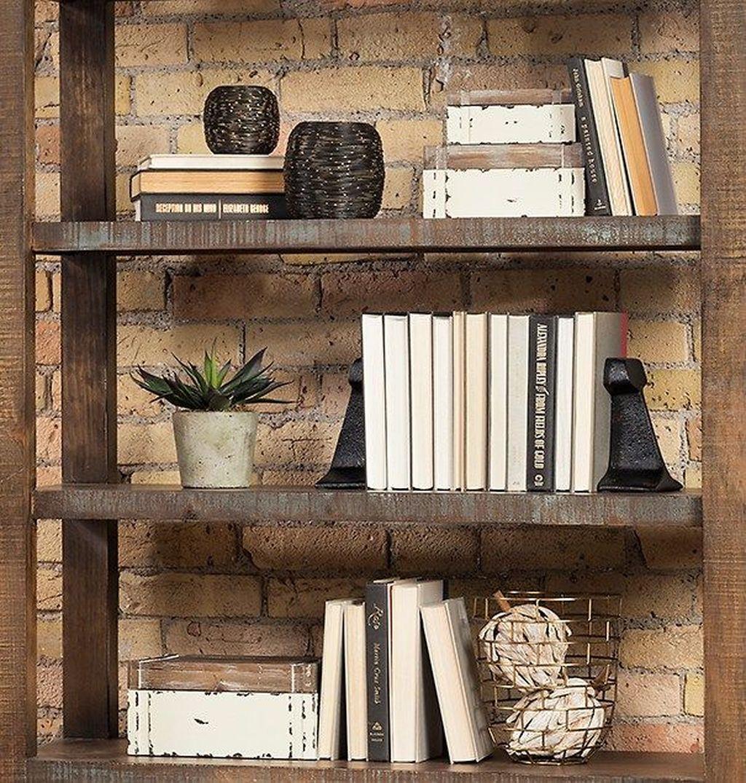 Elegant Bookshelves Decor Ideas That Trending Today 11