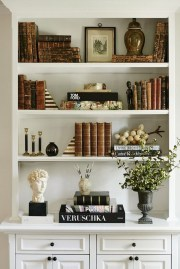 Elegant Bookshelves Decor Ideas That Trending Today 23