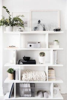Elegant Bookshelves Decor Ideas That Trending Today 45