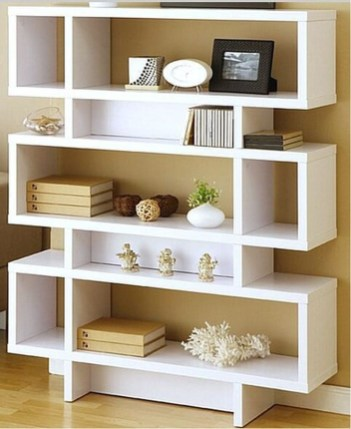 Elegant Bookshelves Decor Ideas That Trending Today 54