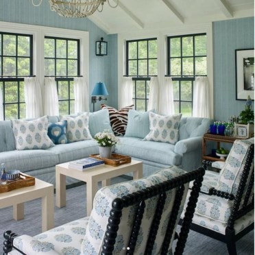 Lovely Colorful Living Room Decor Ideas For Summer 45