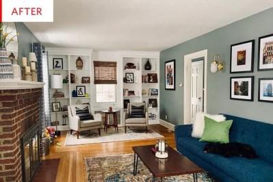 Pretty Bookshelves Design Ideas For Your Family Room 16