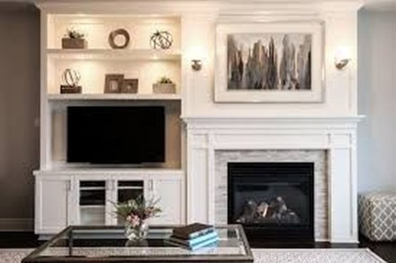 Pretty Bookshelves Design Ideas For Your Family Room 19