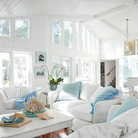 Splendid Coastal Living Area Ideas For Home Look Fabulous 06