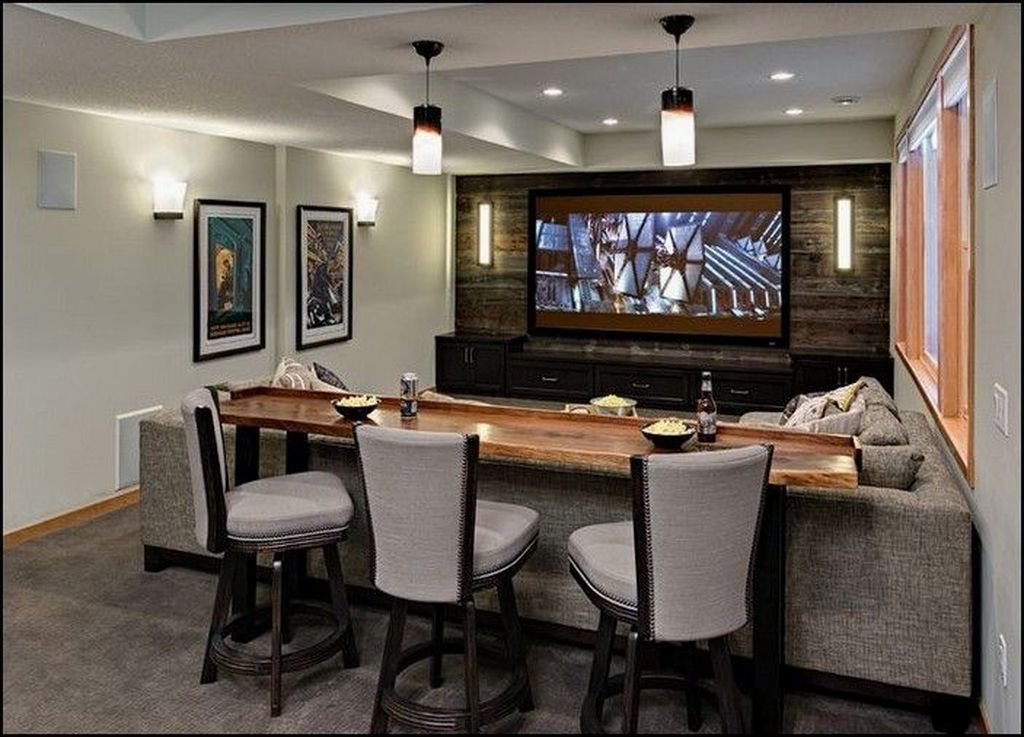 Adorable Basement Remodel Ideas For Upgrading Your Room Design 10