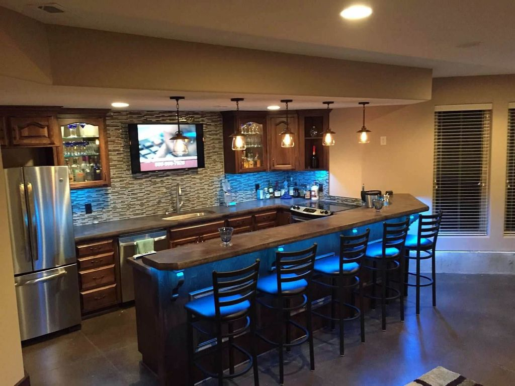 Adorable Basement Remodel Ideas For Upgrading Your Room Design 11