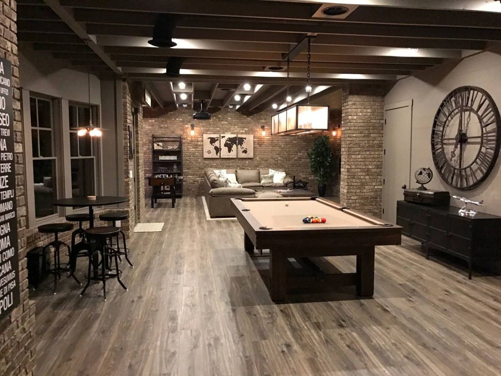 Adorable Basement Remodel Ideas For Upgrading Your Room Design 32