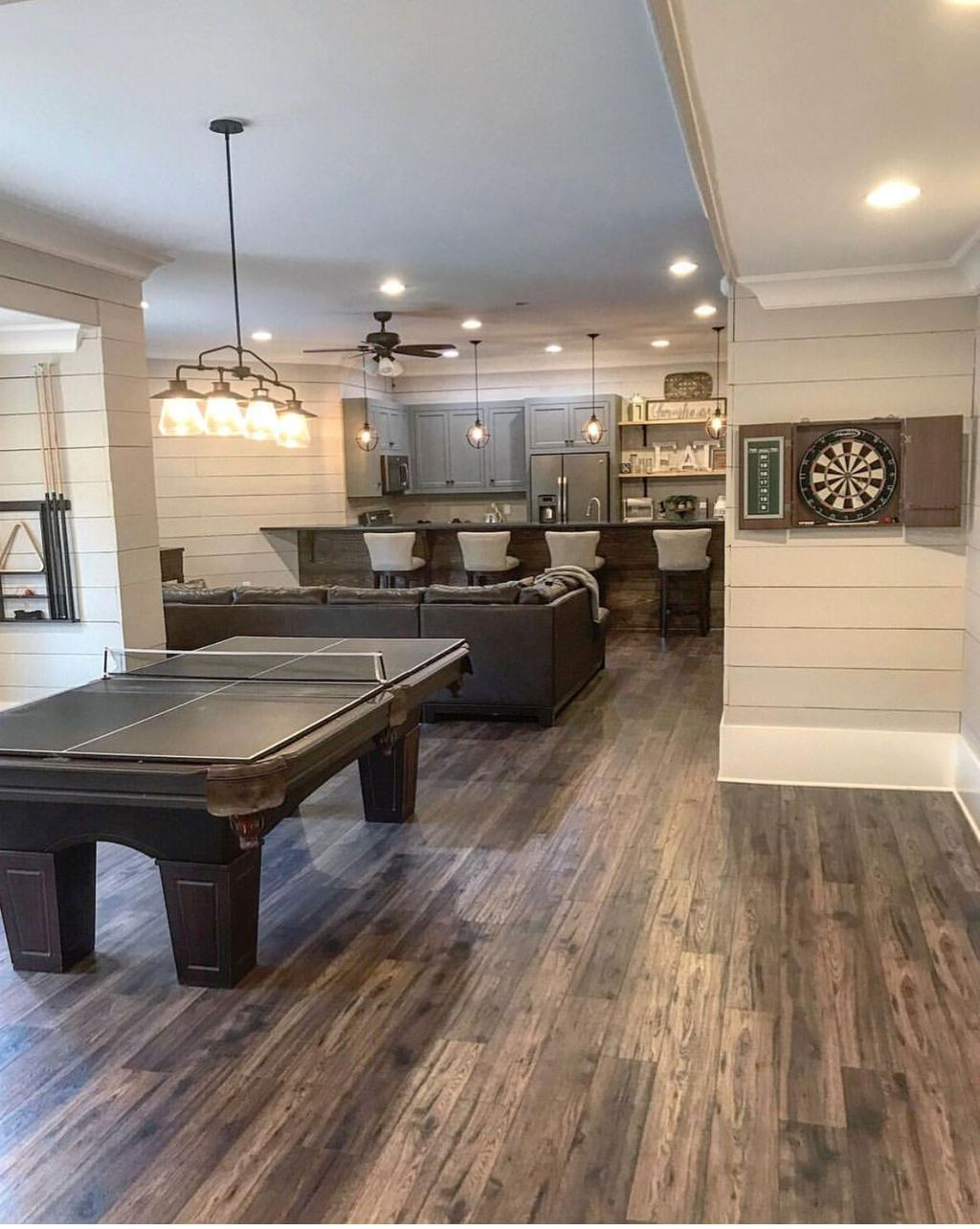 Adorable Basement Remodel Ideas For Upgrading Your Room Design 36