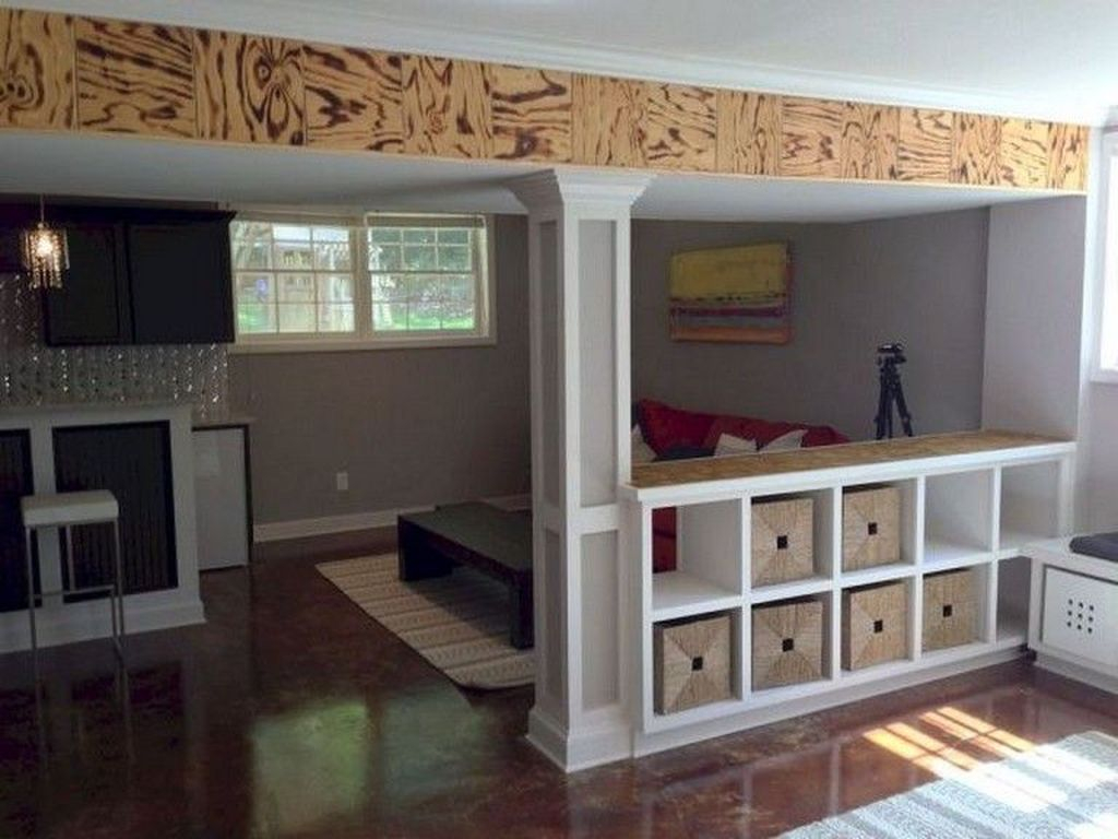 Adorable Basement Remodel Ideas For Upgrading Your Room Design 38