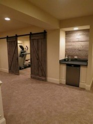 Adorable Basement Remodel Ideas For Upgrading Your Room Design 39