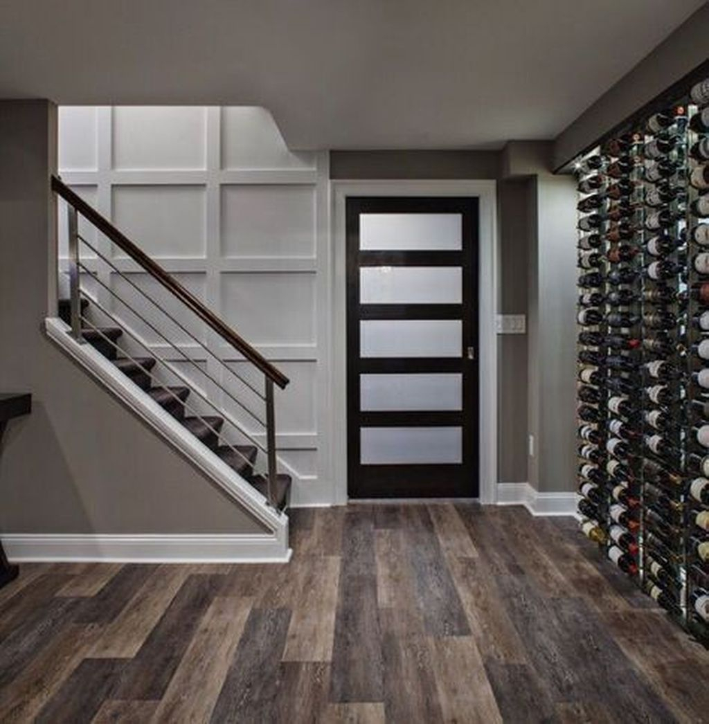 Adorable Basement Remodel Ideas For Upgrading Your Room Design 40
