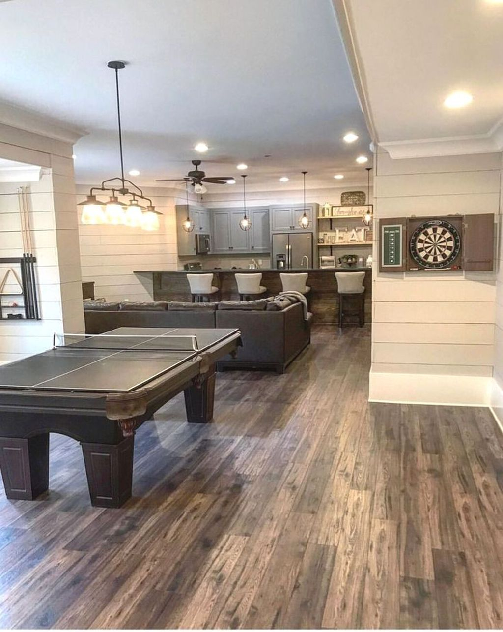 Adorable Basement Remodel Ideas For Upgrading Your Room Design 41
