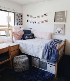Adorable Dorm Room Design Ideas On A Budget 08
