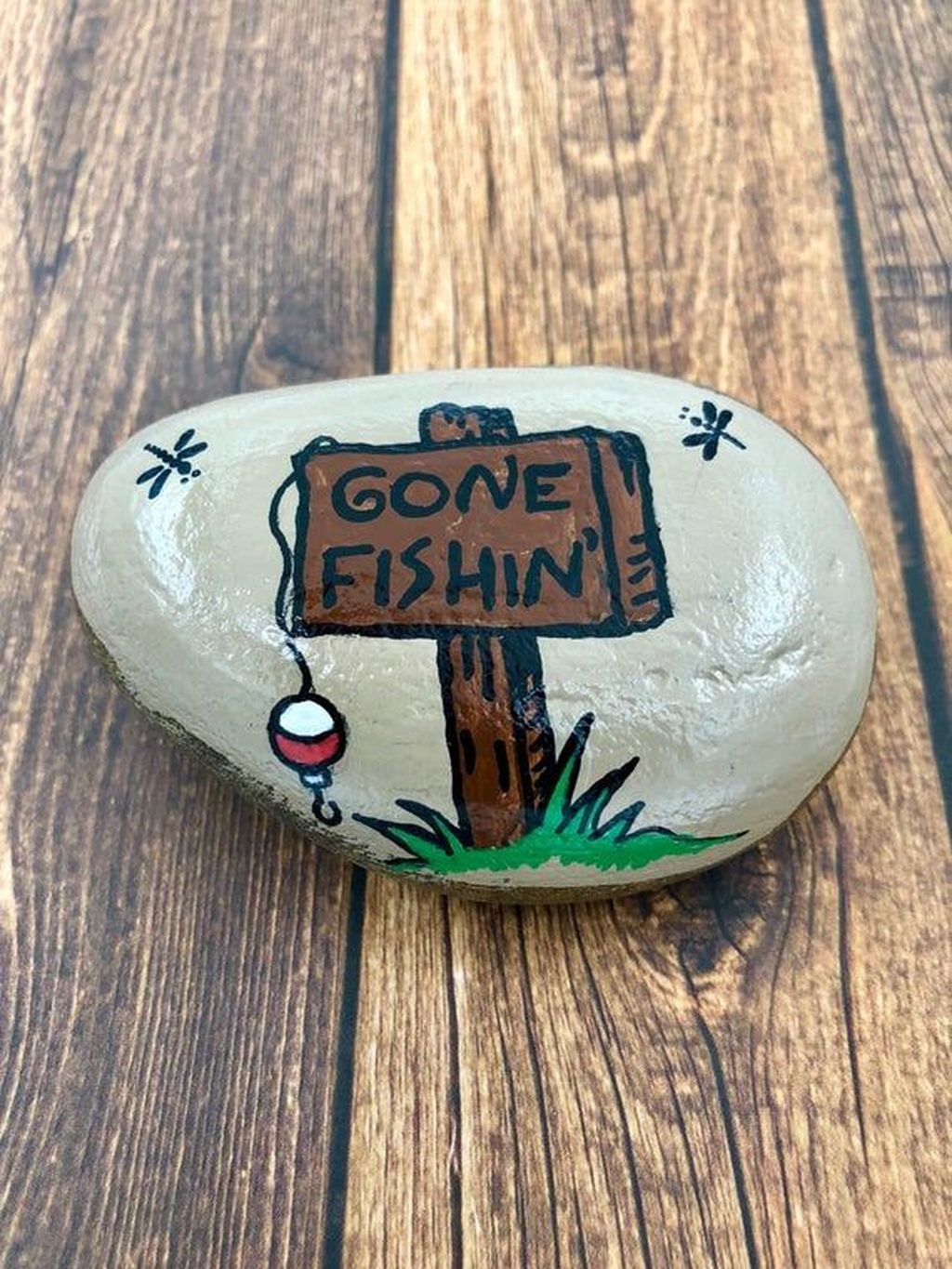 Affordable Diy Painted Rock Ideas For Home Decoration 05