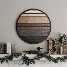Affordable Geometric Wood Wall Art Design Ideas For Your Inspiration 02