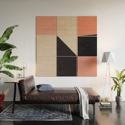 Affordable Geometric Wood Wall Art Design Ideas For Your Inspiration 09