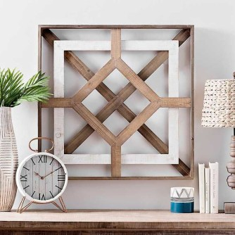 Affordable Geometric Wood Wall Art Design Ideas For Your Inspiration 19