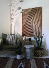 Affordable Geometric Wood Wall Art Design Ideas For Your Inspiration 32