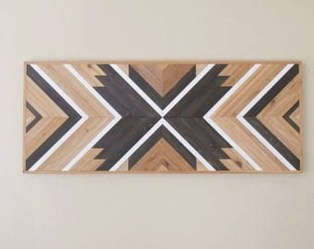 Affordable Geometric Wood Wall Art Design Ideas For Your Inspiration 42